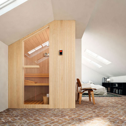 Bio sauna / Finnish / residential NUVOLA GLASS 1989