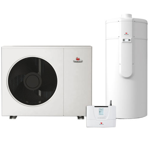 electric water heater / free-standing / vertical / with heat pump