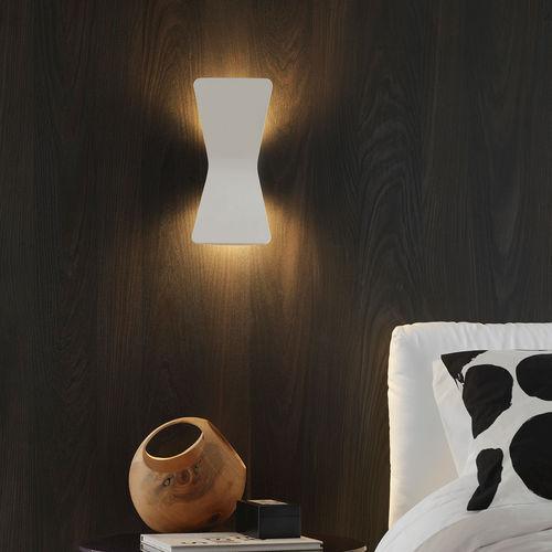 contemporary wall light / cast aluminum / LED / IP20