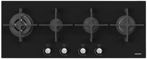 gas cooktop / cast iron / wok