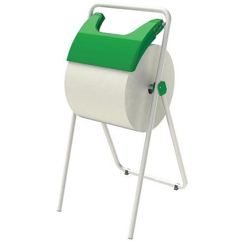 wall-mounted paper towel dispenser / floor-standing / metal / ABS