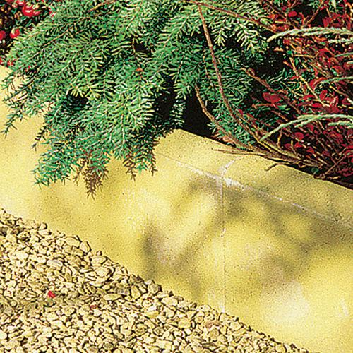 garden edging / concrete / engineered stone / linear