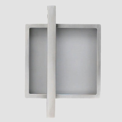 door handle / aluminum / contemporary