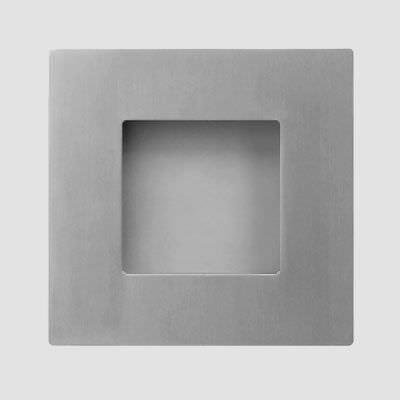 door handle / aluminum / contemporary