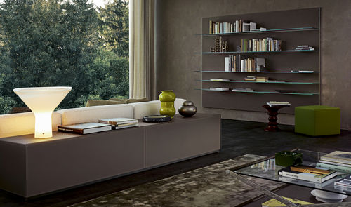 Wall-mounted bookcase / contemporary / for offices / wooden ELLE PLUS 10  Gallotti&Radice