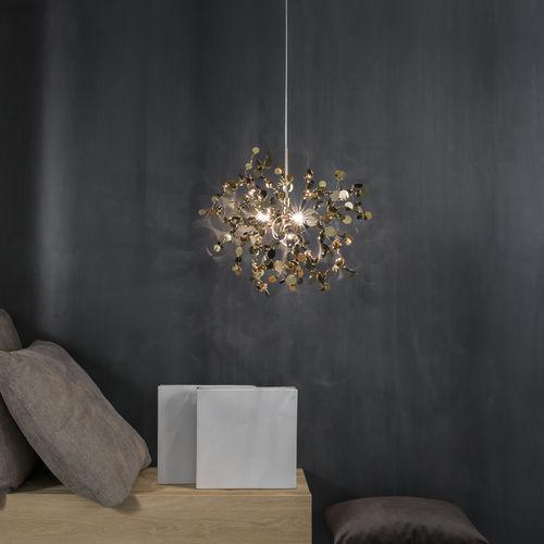 pendant lamp / contemporary / metal / halogen