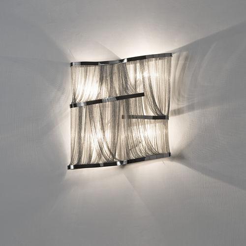 contemporary wall light / metal / LED / halogen