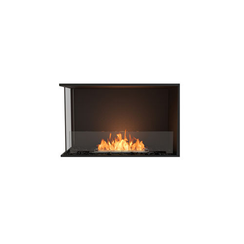 bioethanol fireplace / contemporary / open hearth / 2-sided