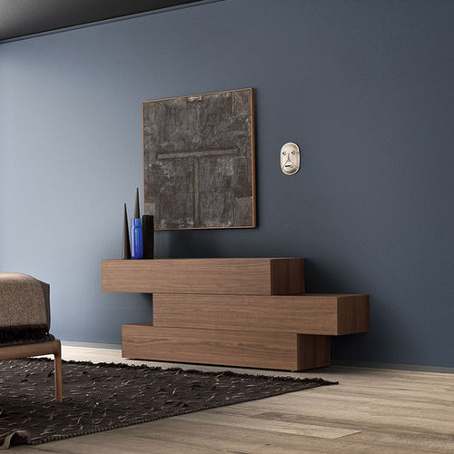 contemporary chest of drawers / lacquered wood / custom / modular