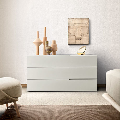 contemporary chest of drawers / lacquered wood / modular / for hotel rooms