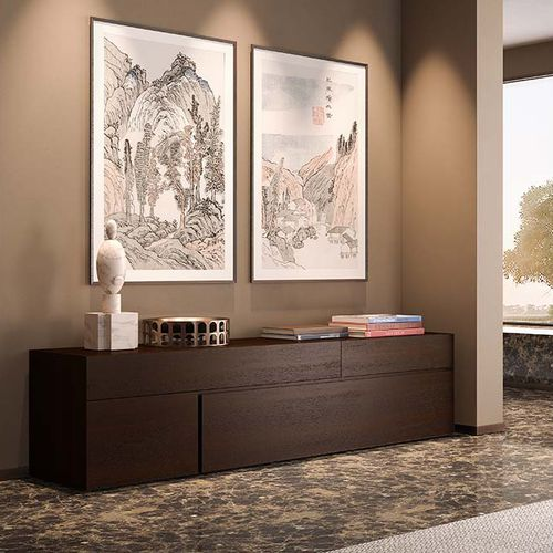 contemporary sideboard / solid wood
