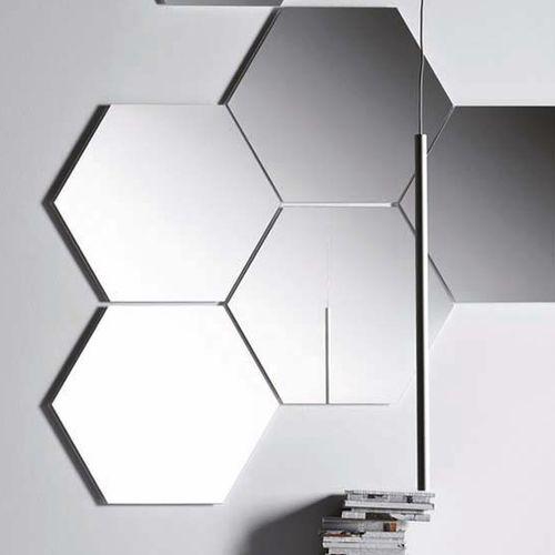 wall-mounted mirror / LED-illuminated / contemporary