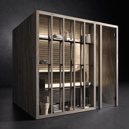 Finnish sauna / home / wooden