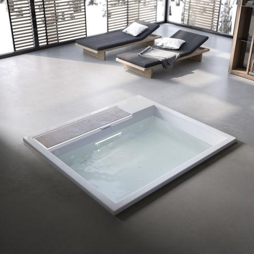 concrete bathtub / commercial