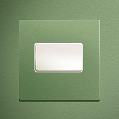light switch / rocker / metal / contemporary