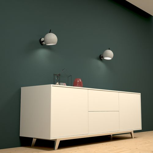 Contemporary wall light / metal / concrete / other light source SUPERFLY-W Urbi et Orbi