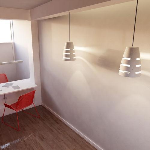 Pendant lamp / contemporary / concrete / handmade BATTAGLIA 150 Urbi et Orbi
