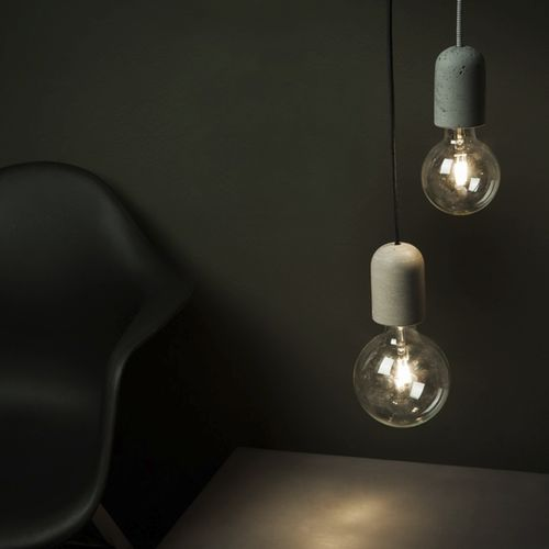 Pendant lamp / contemporary / concrete DOLIO Urbi et Orbi