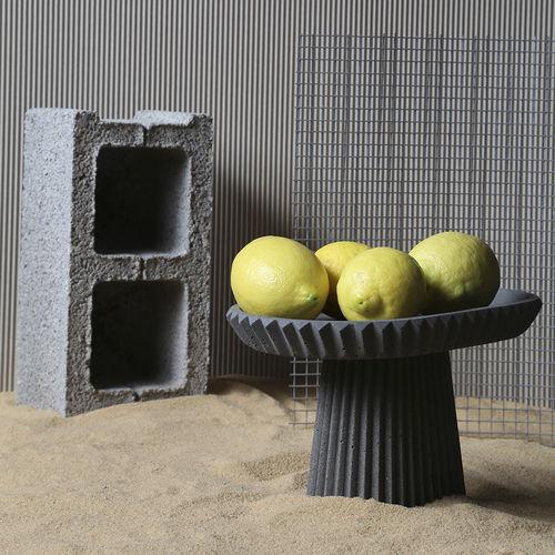 concrete centerpiece