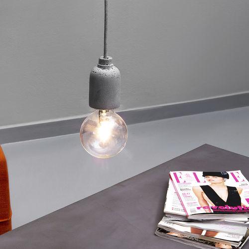 Pendant lamp / contemporary / concrete AMPULLA PIC Urbi et Orbi
