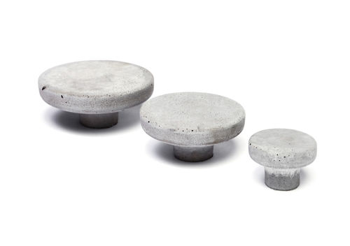 Contemporary furniture knob / concrete POMOLO Urbi et Orbi