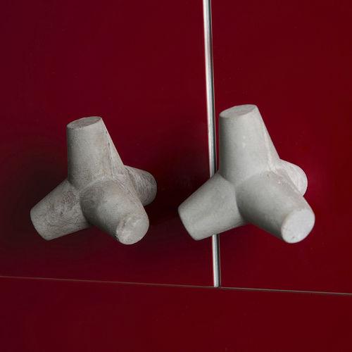 contemporary furniture knob / concrete
