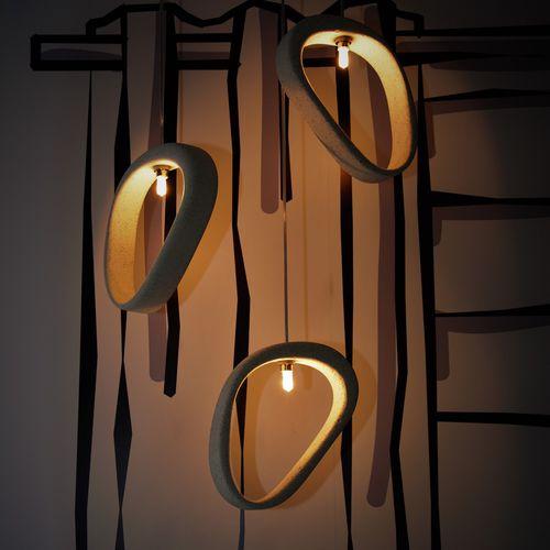 Pendant lamp / contemporary / concrete / handmade ARETHA C Urbi et Orbi