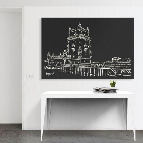 Aluminum decorative panel / wall-mounted / lightweight / high-resistance BPLAN