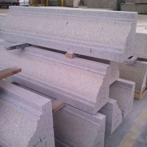 prefab cornice / natural stone / outdoor