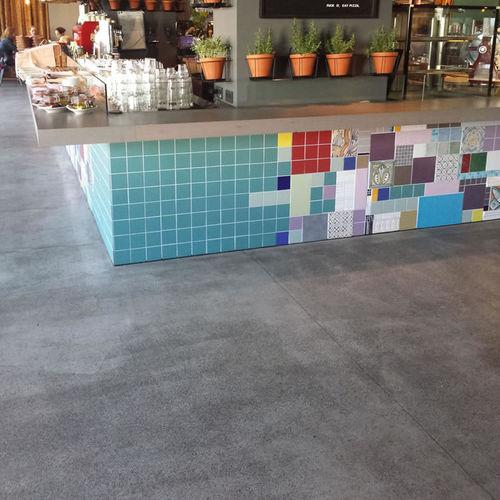 concrete floor covering / tertiary / concrete look / exterior