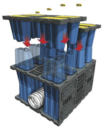basin stormwater management module / in-ground