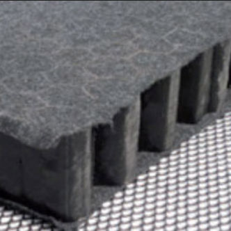 flat roof rainwater retention mat - NIDAPLAST