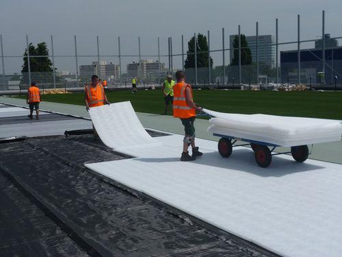 ground stabilization geogrid / drainage / patio / polypropylene