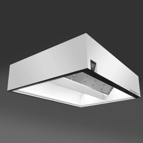 ceiling-mounted range hood / commercial
