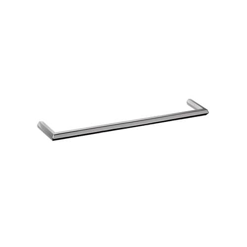 1-bar towel rack / wall-mounted / chromed metal / for hotels