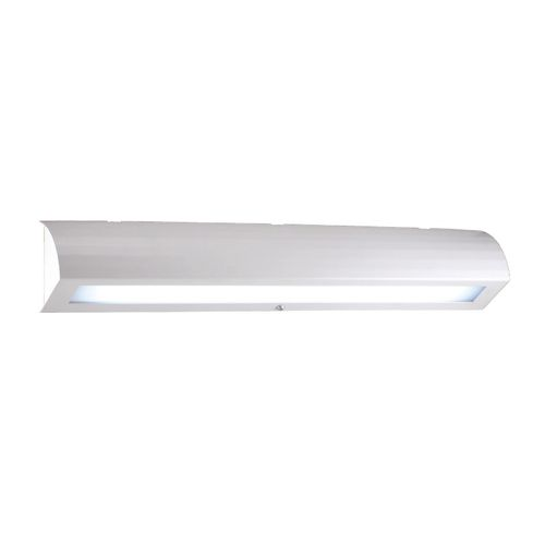 contemporary wall light / lacquered steel / polycarbonate / LED