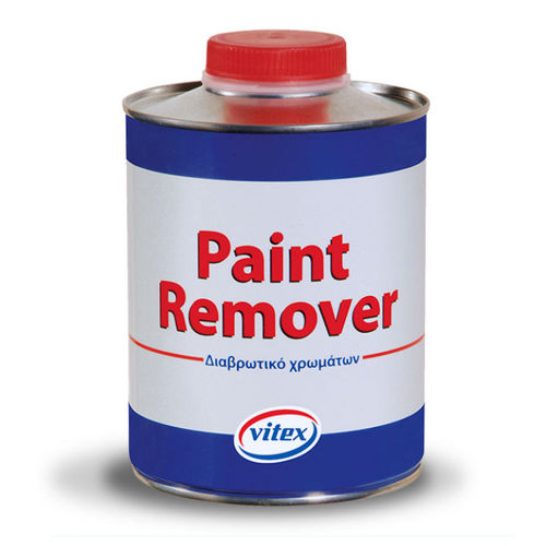 painted paint remover