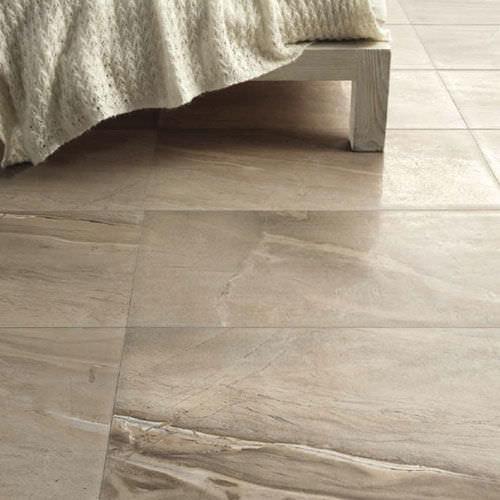 indoor tile / floor / porcelain stoneware / embossed