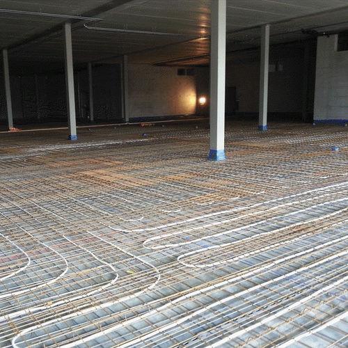 sound insulation / for heated floors / foam / anti-vibration