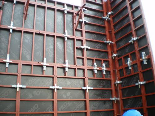 frame formwork / modular / metal / large-area