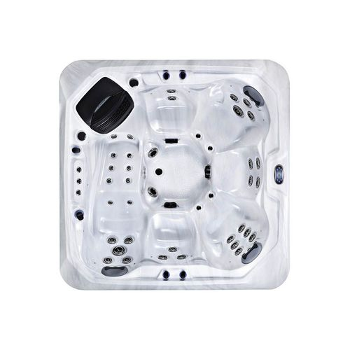 Built-in hot tub / square / 6-seater / outdoor BL-866 Beauty Luxury