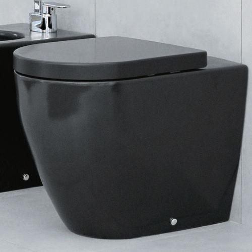 free-standing toilet / ceramic