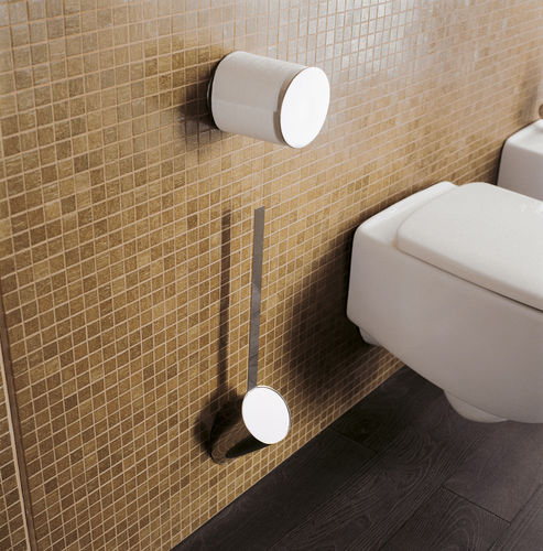 wall-mounted toilet paper dispenser / brass / chrome / commercial