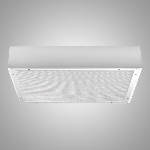 surface-mounted light fixture / LED / square / IP55