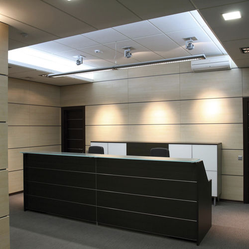 Hanging light fixture / LED / linear / polycarbonate SMART SYSTEM  Esse-ci