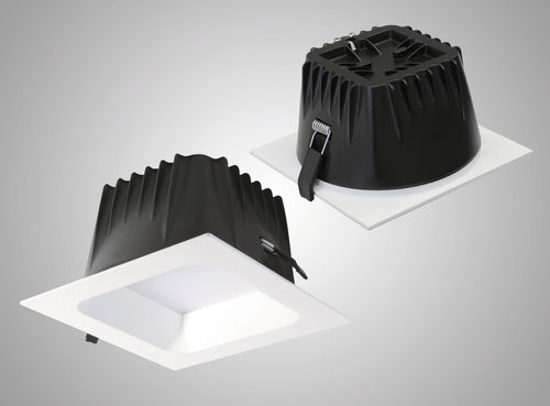 Recessed downlight / LED / square / polycarbonate BOX LED Esse-ci