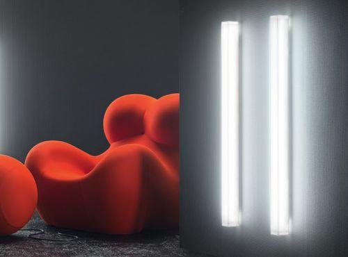 contemporary wall light / methacrylate / LED / IP40