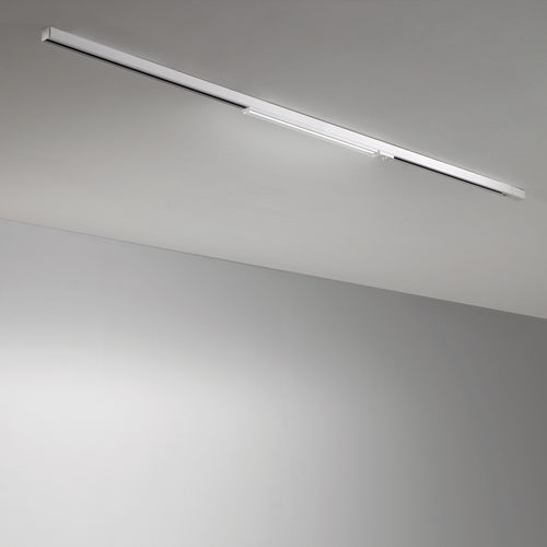 recessed ceiling light fixture / hanging / LED / linear
