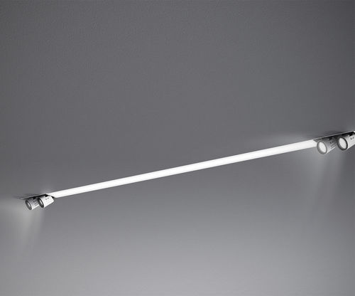 recessed light fixture / LED / linear / extruded aluminum
