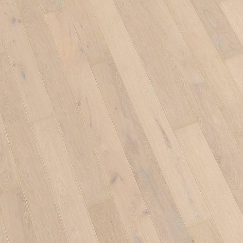 engineered parquet floor / glued / aged / FSC-certified
